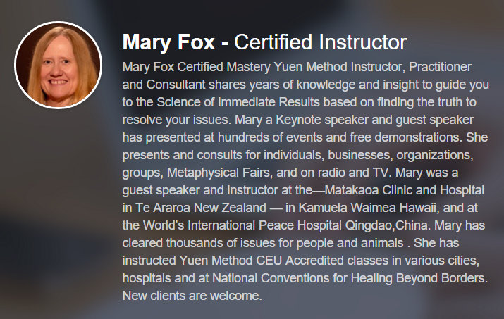 Mary-Fox